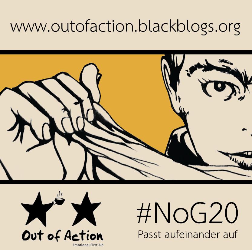 Logo OoA auf dem G20